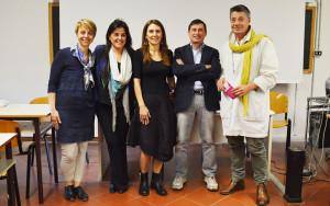 La Prof.ssa Vertuani, la prima da sx, è docente e membro del Comitato Tecnico Scientifico del Corso ICQ.