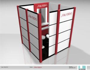 Shiseido Cabina deluxe