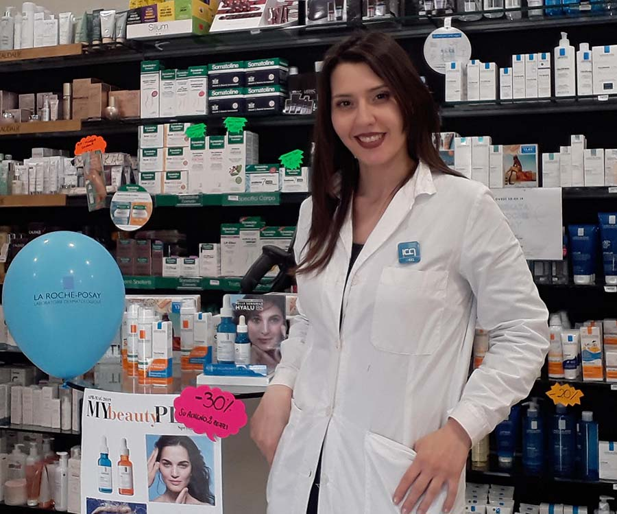Thea Procopio, beauty consultant e studentessa ICQ